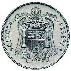 El duro de 1949, una de las monedas más codiciadas. Valuable Coins, Foreign Coins, Fountain Pen, Cool Things To Buy, Nostalgia, Stamp, Money, History, World