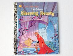 1993 Sleeping Beauty Little Golden Book, Walt Disney's Sleeping Beauty, Hardback, Golden Books, 00921