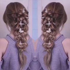 "Hair Hacks on Twitter: ""This is pretty! ☺️ https://t.co/6xvbyNBASD"""