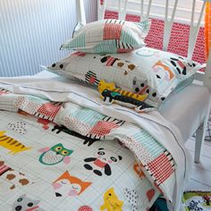 Prints, patterns and animals galore - My Best Friend Printed Childrens Bed Linen   Designers Guild UK