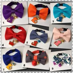 A personal favorite from my Etsy shop https://www.etsy.com/listing/385516236/luxury-designer-cat-bow-tie-collar-hand