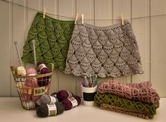 Hi everyone in this episode I'll show you how to make crochet skirt. One or two evenings project, even for beginners!!! This pattern I have found on pinteres...