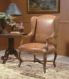 Century Chair (3529) Parsian Wing Chair