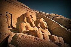 Abu Simbel. Egypt.-  Abu Simbel. Egipto