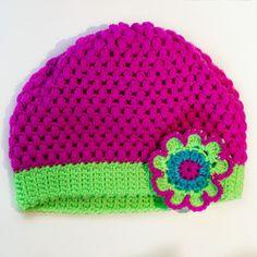 Flower crochet free pattern