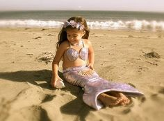 Beautiful little mermaid costume! Visit http://www.sallyleebythesea.com/2013/10/halloween-costumes-with-coastal-theme.html