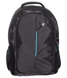 HP Black Polyester Backpack