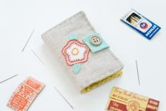 Grab a small piece of your finished embroidery or stitch up something new, then make a needle book to keep all your needles safe and organized with this DIY!
