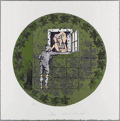 EDUARDO ARROYO. 80. Romeo y Julieta. 1995. Suite Senefelder. Litografía (3 colores). | Photosai Gallery