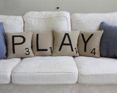 #scrabble #pillow #kussen