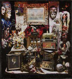 Venetian Menagerie by Melissa Sobotka (Richardson, TX) Winner of $1000 for Outstanding Art Quilt