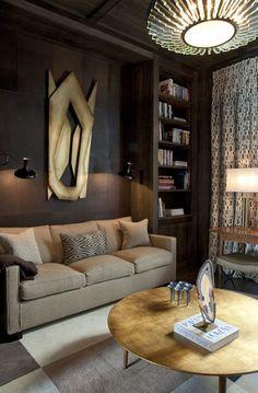 Today we LOVE: Jean Louis Deniot World Best Interior Designers. Living room decor ideas. Want insipration? See more: http://www.brabbu.com/en/inspiration.php