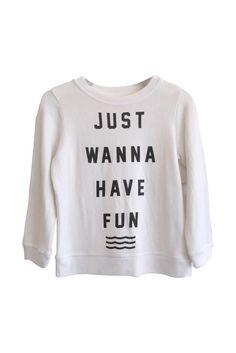 Have Fun Pullover