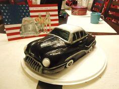 Isän 50v kakku! Buick