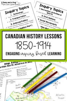 canadian history essay topics