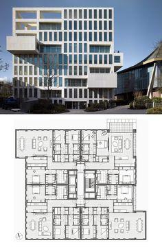 Holland Green by OMA #Moderna #residentialarchitecture #residential #architecture #elevation
