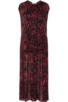 IRO - Agneska paisley-print georgette maxi dress