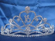 Sparkling Crystal made tiaras,wedding tiaras,bridal tiaras,wedding jewelry,bridal favors - love this for my chickypoo
