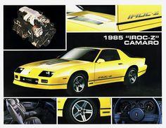 "1985 Camaro ""IROC -Z"""