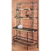 Found it at Wayfair - French Baker's Rack