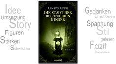 BücherKaffee: Rezension || Die Stadt der besonderen Kinder | Ran...