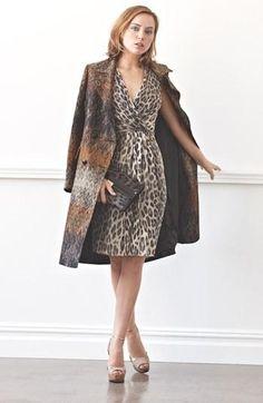 Ladylike in leopard.