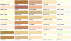 Valspar Green Paint Color Chart | Valspar Lowes / Laura Ashley - Paints Chip, Swatch, Sample Palette