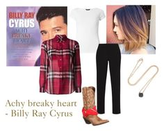 """My ideal wardrobe by me: 'Achy breaky heart' - Billy Ray Cyrus song!"" by sarah-m-smith ❤ liked on Polyvore featuring Dorothy Perkins, Burberry, BCBGMAXAZRIA, Durango and Pomellato"