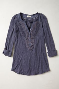 Chennai Henley - Anthropologie.com - $68.00