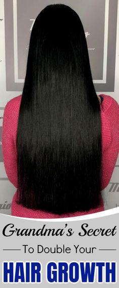 Grandma's Secret To Double Your Hair Growth – natürliches shampoo Damp Hair Styles, Long Hair Styles, Henna Hair Dyes, Different Hair Types, Hair Growth Treatment, Hair Thickening, Hair Care Routine, Silky Hair, Grow Hair