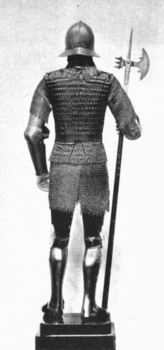 SPANISH MAN-AT-ARMS, 15TH CENTURY (BACK VIEW)