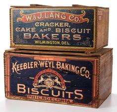 Vintage boxes..
