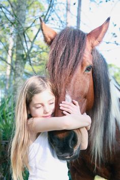Horse and girl - unconditional love. And he's a tri-color paint, just like Jericho