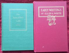Ellen G White Duo: The Sanctified Life ~ Early Writings HB SDA Adventist Books