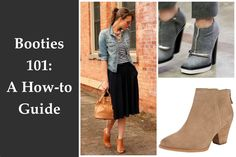 How to wear booties? This season's must-have item. Booties 101- A how to guide