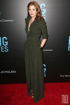"Amy Adams in Max Mara at the ""Big Eyes"" New York Premiere Love Fashion, Fashion Show, Autumn Fashion, Fashion Outfits, Drop Dead Gorgeous, Amy Adams Style, Amy Addams, Actress Amy Adams, Shirtwaist Dress"