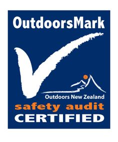 Westland High School Outdoor Education programme has achieved the safety audit: Outdoors Mark