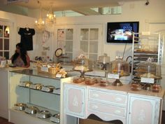 bakery interior - @Denise Luna I love the old buffet (mainly because I already have one!)