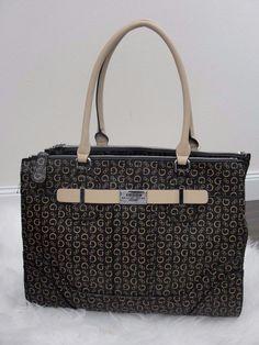 a4d667dad91f GUESS ACME LOGO-PRINT CARRYALL LARGE TOTE SATCHEL  99  GUESS   HandbagShopperTote