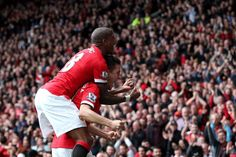 "Ashley Young: ""Love a good celebration, well done @AnderHerrera! Next up, the derby against City... #UNITED"" 4.4.2015"