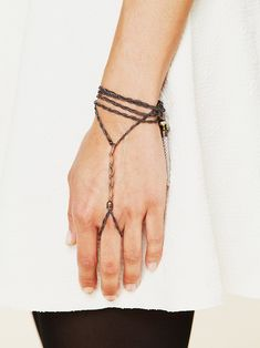 Free People Beaded Tassel Handpiece, $24.00