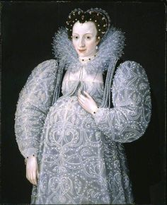 1595 Portrait of an Unknown Lady by Marcus Gheeraerts the Younger (Tate Gallery) Previous Next List Elizabethan maternity wear is shown in this 1595 portrait. Elizabeth I, Historical Costume, Historical Clothing, Maternity Wear, Maternity Fashion, Maternity Clothing, Maternity Style, Pregnancy Dress, Pregnancy Clothes