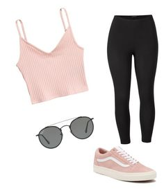 """""""Untitled #73"""" by alessiacaravetta on Polyvore featuring Venus, Vans, Ray-Ban and plus size clothing"""
