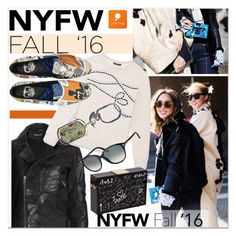 """""""Day Two: The Best NYFW Street Style"""" by paculi ❤ liked on Polyvore featuring Religion Clothing, Petit Bateau, Tom Ford, women's clothing, women, female, woman, misses, juniors and nyfw2016"""