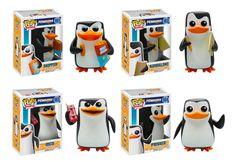 Original Funko pop Movie The Penguins of Madagascar Rico Skipper Figure Collectible Model Toy with Original box Funk Pop, Toy Art, Gumball, Pop Bobble Heads, Best Funko Pop, Penguins Of Madagascar, Funko Pop Toys, Pop Figurine, Disney Pop