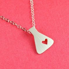 Chemistry Necklace - love this!
