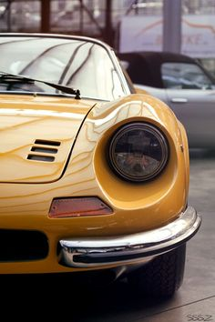 1969 Dino 246 GT Berlinetta | Ferrari Dino | Pininfarina | Fixed-Top Grand Touring Coupe | Dino 246 production numbered 2,295 GTs and 1,274 Spyders | Sssz