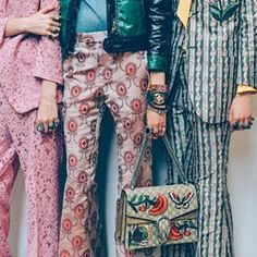 The girls backstage at @gucci men's spring/summer 2016