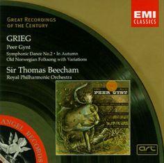 Thomas Beecham – Edvard Grieg: Peer Gynt Op.23, Symphonic Dances Op.64 (1993)