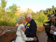 Think of renewing your vows in Sedona, Arizona? Check out of Sedona vow renewal ceremonies. #sedonavowrenewal #sedonadestinationweddings